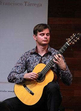 Recital del guitarrista ruso Anton Baranov en Benicàssim