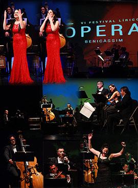 Sandra Pastrana en la Gala del Festival Lírico Ópera de Benicàssim
