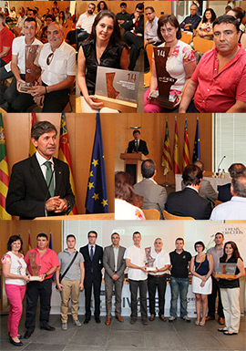 CEEI Castellón entrega los Premios CEEI-IVACE 2014