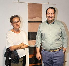 Inauguración de la exposición de Amparo Dols Marzá en Benicàssim