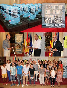 Entrega de trofeos del Circuito Diputación de Carreras Noctunas