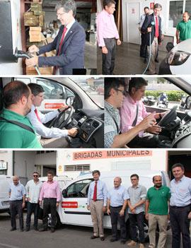 El Ayuntamiento de Castellón incorpora otros dos vehículos eléctricos