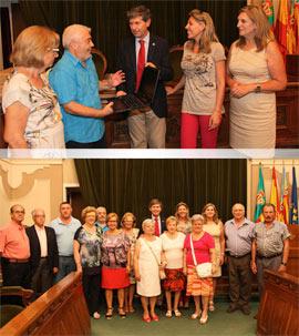 Ocho ordenadores para las asociaciones de mayores de la ciudad de Castellón subvencionados por la Diputación Provincial