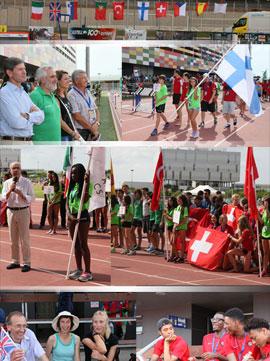 Inauguración del Campeonato de Europa de Atletismo Clubs Junior