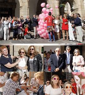 Celebración del Día Mundial del Cáncer de Mama en Castellón