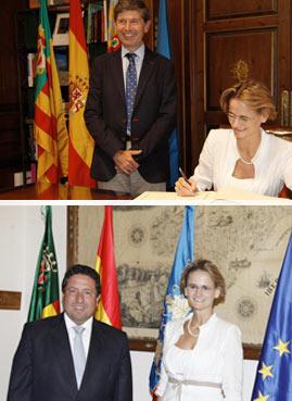 La embajadora de Hungría en España, Eniko Gyori, visita Castellón