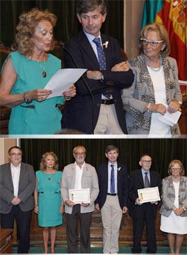 Acto de entrega de los premios del Concurso Literario del Consejo del Mayor