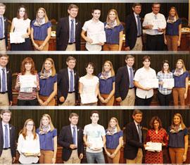Acto de entrega de los premios de los Concursos de Juventud de Castellón