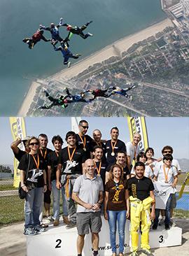 XXXVI Campeonato de España Open de paracaidismo deportivo 2014 en VF-4