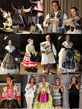 INDUMENTÀRIA 2014, II Mostra i Desfilada de roba tradicional  en Castellón