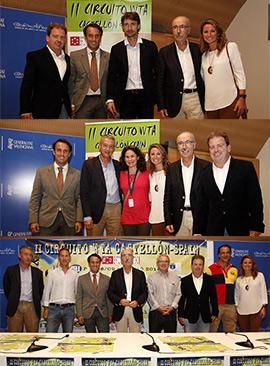 Presentación del  II Circuito WTA de Tenis femenino Castellón Spain