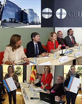 Inauguración de curso en la Universidad CEU Cardenal Herrera de Castellón