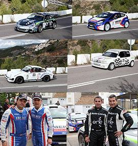 Miguel Fuster gana el XXVI  Rallye Cerámica de Castellón