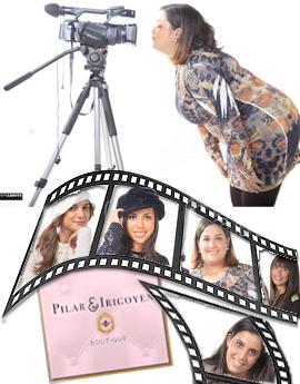 Una colección de moda .....¡de cine! en Pilar Irigoyen