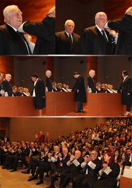 Acto de juramento o promesa de 36 nuevos abogados de Castellón