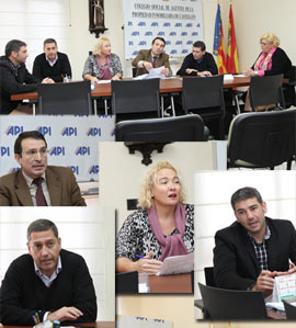 Rueda de prensa del Colegio Oficial de Agentes de la Propiedad Inmobiliaria de Castellón