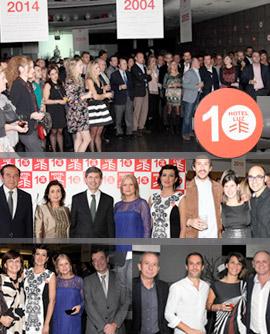 El Hotel Luz celebró diez años de trayectoria en Castellón