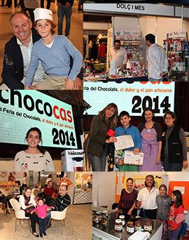 La séptima edición de CHOCOCAS cierra sus puertas tras un fin de semana lleno de chocolate