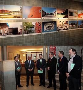 Inauguración de la exposición y la jornada del Cerurbis en las que participan Limoges y Aveiro