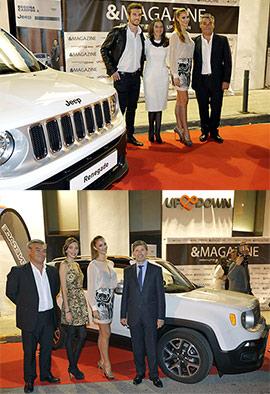 Presentación del nuevo Jeep Renegade ante la sociedad castellonense