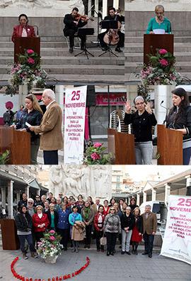 Acto del Día Internacional de la Eliminación de la Violencia de Género
