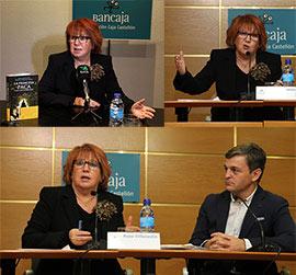 Rosa Villacastín presenta a La Princesa Paca en la Fundación Caja Castellón