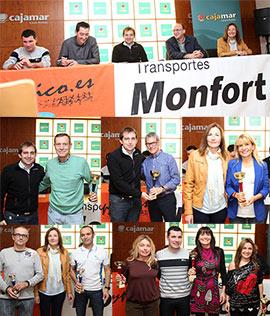 Entrega de premios en Castellón del VI Circuit Terrasfalt