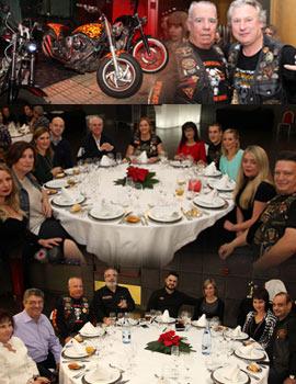 Cena de los amigos de Big Twin Castellón en el Hotel Luz