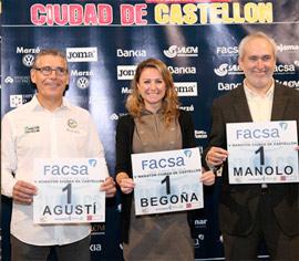 Presentación del dorsal del V Maratón Internacional Ciudad de Castellón