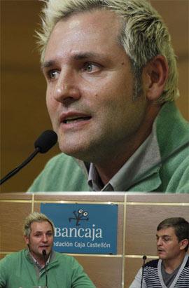 Santiago Cañizares presentó su libro ¡Papá, quiero ser futbolista! en la Fundación Caja Castellón
