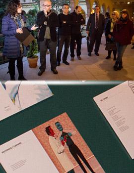 """Inauguración de la exposición """"Yo voy soñando caminos"""" en conmemoración del 75 aniversario de la muerte de Antonio Machado"""