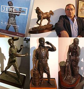 Exposición de escultura y pintura de Jere en Benicàssim