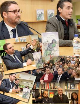Pablo Sebastiá presentó su última novela