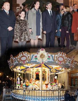 Inauguración del  Mercat de Nadal y encendido de las luces de Navidad