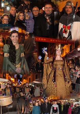 El medievo vuelve a Castellón con el mercado medieval en la calle Mayor