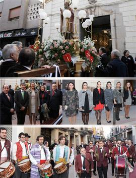 Celebración de la festividad de Sant Nicolau de Bari