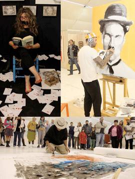 La IV Semana del Arte Marina d'Or ha estado caracterizada por un sinfín de actividades en vivo
