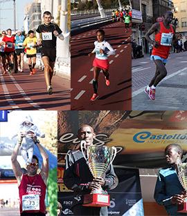 V Maratón Internacional Ciudad de Castellón, reportaje fotográfico