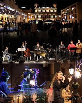 Concierto del Berklee College of Music en la Plaza Mayor