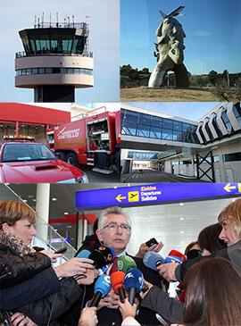 Puesta en funcionamiento del aeropuerto de Castellón