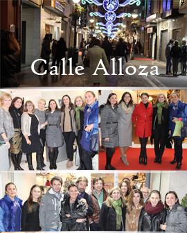 Los comercios de la calle Alloza se unieron para hacer de  la noche del viernes una gran fiesta