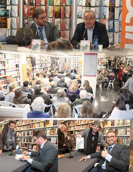 Pablo Sebastiá llenó Plácido Gómez en la presentación de `La Sonrisa de las iguanas´