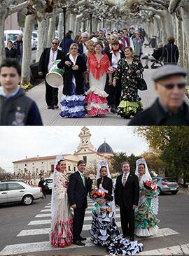 Fiesta de la Virgen del Rocío, del Centro Cultural Andaluz de Castellón