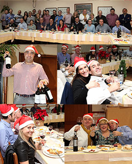 Cena de navidad de Asucap, Asociación de Sumilleres de Castellon y Provincia