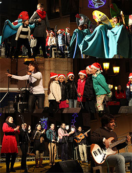 Concierto del CEIP Serrano Súñer, ganador del concurso de villancicos para coros infantiles