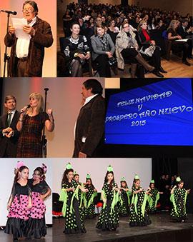 Actuación infantil organizada por la Asociación Gitana de Castellón
