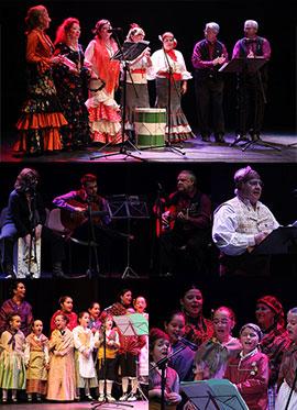 Concierto de villancicos regionales en el teatro Raval de Castellón
