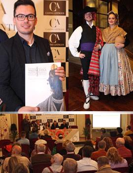 """Presentación del libro """"Indumentària Tradicional Valenciana"""" de Francesc Xavier Rausell Adrián"""