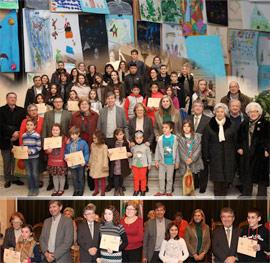 Entrega de premios del V Concurso de Tarjetas Navideñas- Premio Jesús Medrano