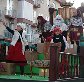 Cabalgata de los Reyes Magos de Oriente en Benicàssim